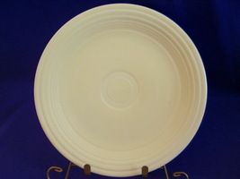Vintage Fiestaware Ivory Lunch Plate Fiesta  D - $17.60