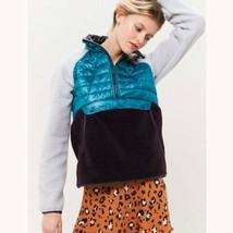 MOUNTAIN HARDWEAR Women's Altius Hybrid Half-Zip Pullover Jacket Size M ... - $98.99