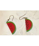 Watermelon Pierced earrings - $4.99