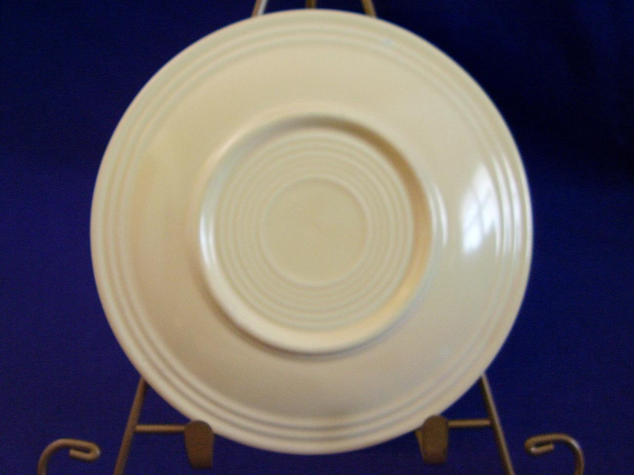 Vintage Fiestaware Ivory Bread Butter Plate Fiesta  B