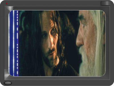 Lord of the Rings 35mm film cell Slide Viggo 1