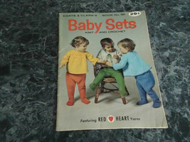 Baby Sets Knit and Crochet Book 181 Coats & Clarks - $2.99