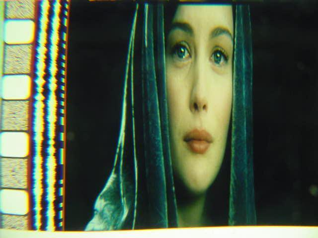 Lord of the Rings 35mm film cell transparency Liv Tyler 1