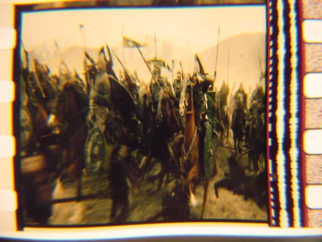 Lord of the Rings 35mm film cell transparency LOTR Slide 29