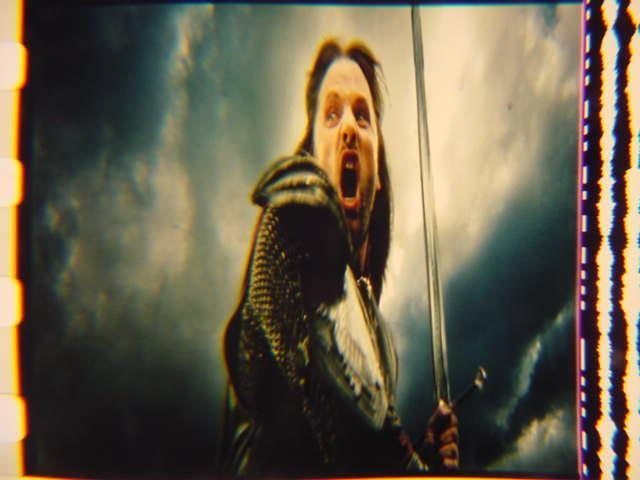 Lord of the Rings 35mm film cell transparency LOTR Slide 15