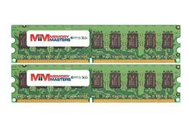 Memory Masters 8GB (2x4GB) DDR2-667MHz PC2-5300 Ecc Udimm 2Rx8 1.8V Unbuffered Me - $178.05