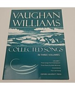 Collected Songs Volume 1 by Vaughan Williams, Ralph (Paperback) - $41.85