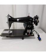 Vtg Montgomery Ward Sewing Machine Round Bobbin Model 188 Art Deco With ... - $185.59