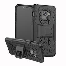 Galaxy A8 2018 Case,XYX [Black][Kickstand][Shock Absorption] Dazzle Brac... - $3.95