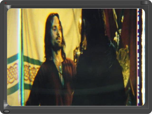 Lord of the Rings 35mm film cell transparency Viggo Slide 4