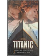 Titanic (VHS 1998 2-Tape Set)  Leonardo DiCaprio, Kate Winslet - $9.99