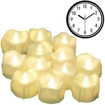 Timer Candles, 12pcs PChero Battery Operated LED Decorative Flameless Ca... - $20.53