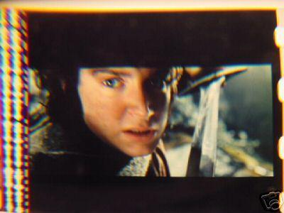 Lord of the Rings 35mm film cell transparency LOTR Slide 9