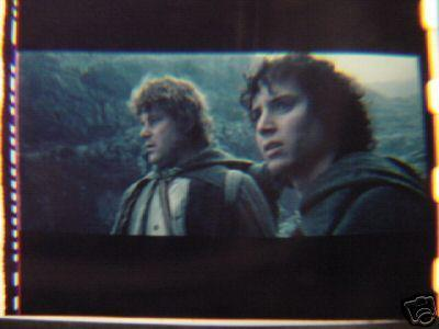 Lord of the Rings 35mm film cell transparency LOTR 4