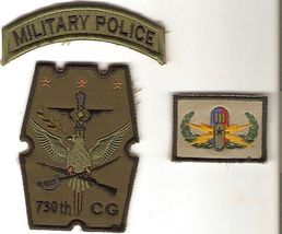 Philippines Air Force PAF 730th Combat Group, Military Police Tab & EOD Badge - $16.99