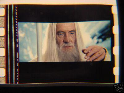 Lord of the Rings 35mm film cell transparency LOTR slide 6
