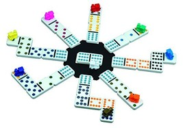 Cardinal Mexican Train Domino Game with Aluminum Case - $21.89