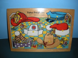 Vintage Fisher Price Pick Up 'N Peek #2721 Hats... - $24.99