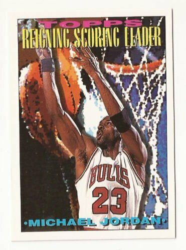 Primary image for 1993-94 Michael Jordan Topps #384 Basketball Card