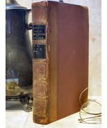 """Simonde De Sismondi, J.C.L.""""Precis De L'Histoire de Francais""""1844 Leather French - $38.00"""