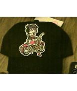 Ol' Betty Boucle Dessin Animé Patch Moto Neuf Flex-Fit Casquette - $17.75