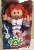 Cabbage Patch Kids OLYMPIKIDS Special Edition Basketball Doll Red Hair G... - $49.50