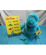 Dr. Seuss One Fish Two Fish Hardback Book & Plush Toy Kohl's Cares for K... - $18.86
