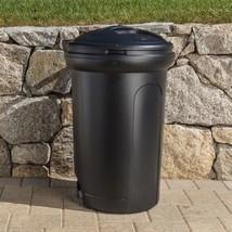 Kitchen Trash Can 32 Gallon Large Outdoor Plastic Waste Bin Locking Lid ... - $26.72