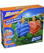 Banzai Bump N' Bounce Body Bumpers - 2 Bumpers Included - Ages 4-12 - Ne... - $35.99