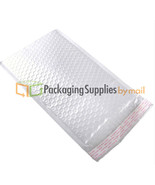 """12.5"""" x 19"""" #(6) White Kraft Bubble Mailer Packing Supplies Bags 500 Pieces - $248.54"""