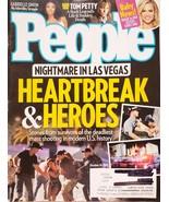 People Magazine Oct 16, 2017 Nightmare in Las Vegas, Tom Petty, Gabrielle Union - $5.95