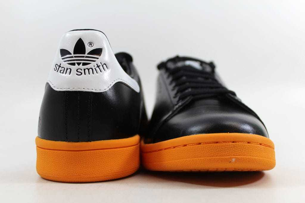 hot sale online 1c81e a34ec ... SZ 6 · Adidas Raf Simons Stan Smith Black Orange-White BB2647 Men s ...
