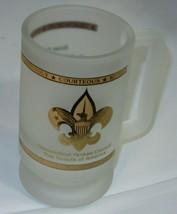Connecticut Yankee Council Boy Cub Webelos Scouts Frosted Mug, Glass, Cu... - $13.23