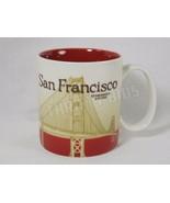 Genuine Starbucks San Francisco Golden Gate Coffee Cup Mug Global Icon 2011 - $39.59
