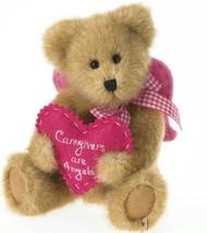 Boyds Bears Plush CARIN TENDERHEART Fabric Caregiver Angel Tlc 4026197 - $7.99