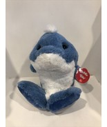 "10"" Dynamo Dolphin Taddle Toes Aurora Plush Stuffed Animal - $13.95"