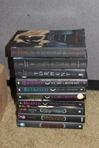 lot of 10 PC Cast Kristin Cast House of Night Series and Armstron Books - $45.00