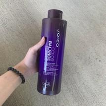 LARGE 1 Liter Joico Color Balance Conditioner Purple Toner Hair READ DEC... - $29.99