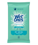 Wet Ones Hand & Face Wipes, Sensitive Skin and Fragrance Free, Pack of 2... - $3.95