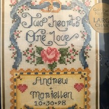 BUCILLA Wedding Sampler Kit 42017 MATTING & FRAME Cross Stitch NEW Seale... - $26.60