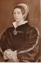1902 ANTIQUE PRINT (HENRY VIII) CATHERINE HOWARD 1540 FIFTH WIFE - $76.57