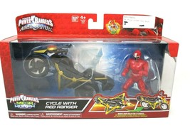 Power Rangers Ninja Steel ‑ Power Rangers Mega Morph Cycle with Red Ranger - $24.74