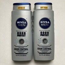 (2) Nivea Men Odor Protect Deep Clean Body Wash, 16.9 fl oz ea - $34.19