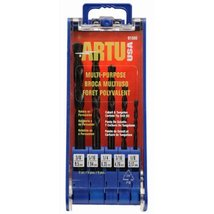 ARTU USA 01505 5-Piece Multi Purpose Drill Bit Set - $29.95