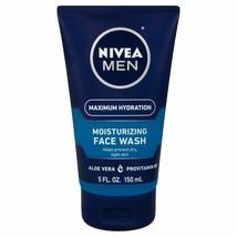 Nivea Men Maximum Hydration Moisturizing Face Wash  5 oz (150ml) - $8.97
