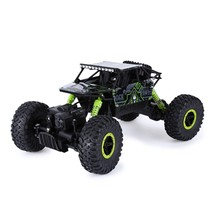 Rc Car Toys, Green 2.4ghz 1:18 Scale Off-road 4wd Race Truck Toy, Usb Ca... - $41.89