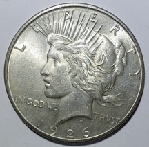 1926S Peace Silver Dollar Coin -  Lot # 818-68