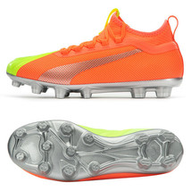Puma ONE 20.2 OSG HG Football Boots Shoes Soccer Cleats Orange 10596001 - $137.99