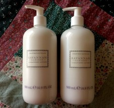 Crabtree & Evelyn Savannah Gardens Large Scented Body Lotion Lot of TWO New - $57.42