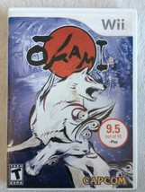 Okami (Nintendo Wii, 2008) Complete In Box With Manual Good Condition - $7.91